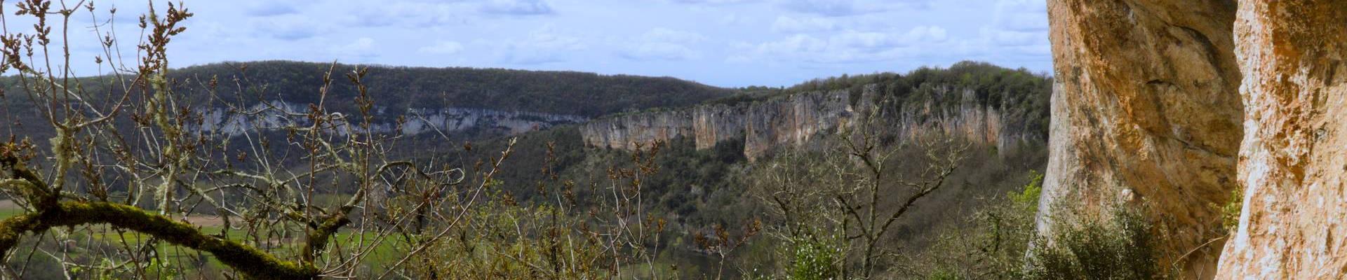 Bandeau sentier des falaises de Saint Géry