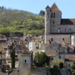 Bandeau village perché de Saint-Cirq Lapopie