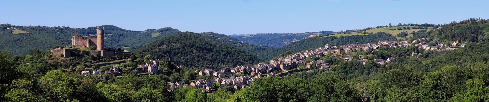 Bandeau Najac, village perché des gorges de l'Aveyron