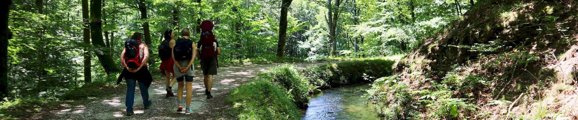 Randonnée rigole de la Montagne Noire sources du Canal du Midi